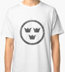 Military Roundels-Flygvapnet Sweden Low Visibility Classic T-Shirt