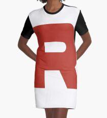 TEAM ROCKET POKEMON Graphic T-Shirt Dress