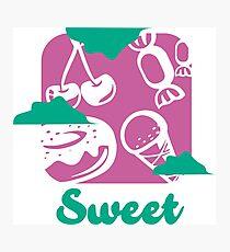 PictoTaste - Sweet Photographic Print