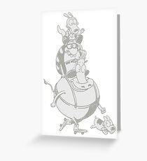 Rocko's modern life totem! Greeting Card