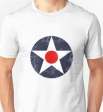 Military Roundels - United States Army Aviation Corps - USAAC Unisex T-Shirt