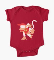Diddy Kong Vector Kids Clothes