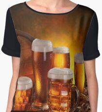 Beer Women's Chiffon Top
