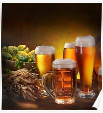 Beer and Draft Beer Poster