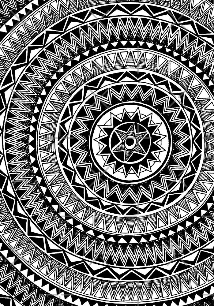 Black and White #2 by libbygardiner