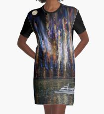 4300 Graphic T-Shirt Dress