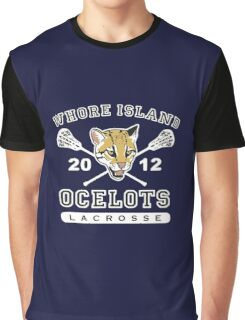 Whore Island Ocelots - Archer Graphic T-Shirt