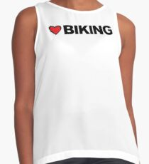 Love Biking Contrast Tank