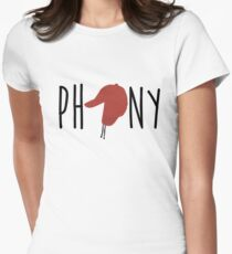 The Catcher in the Rye - Phony Womens Fitted T-Shirt