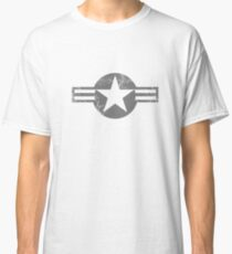 Military Roundels - United States Air Force - USAF Low Visibility Classic T-Shirt