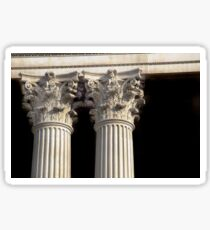 Corinthian Columns. Sticker