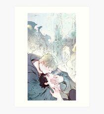 BBC Merlin: A Song From Far Away (alt cover 1) Art Print
