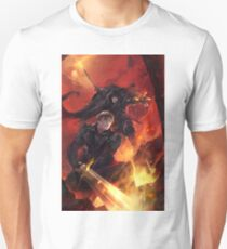BBC Merlin: The Dragon Rises (cover) Unisex T-Shirt