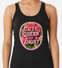 Cute, Queer and Angry Women's Tank Top