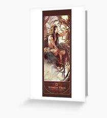 BBC Merlin: The Dragon Rises (World Tree) Greeting Card