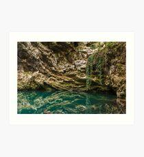 Lacul Dracului in Romania Art Print