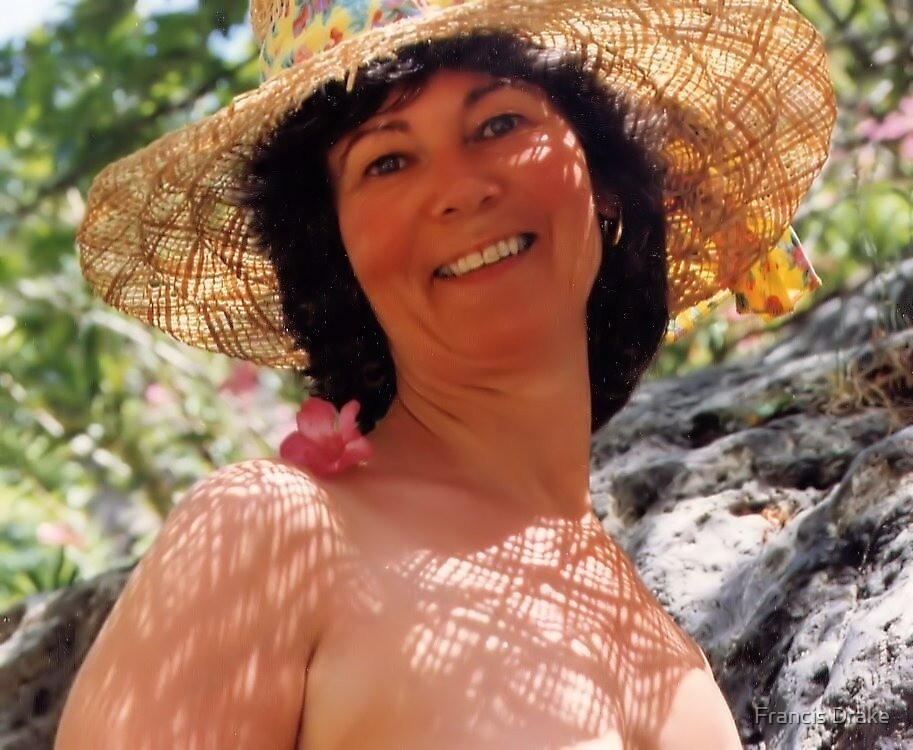 Lady In Straw Hat by Francis Drake