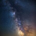 Milky Way in the Northern hemisphere by naturalis