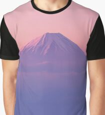 Mt Fuji Above the Clouds  Graphic T-Shirt