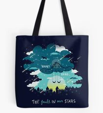 Stars and Constellations Tote Bag