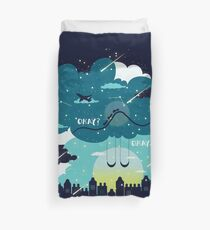 Stars and Constellations Duvet Cover