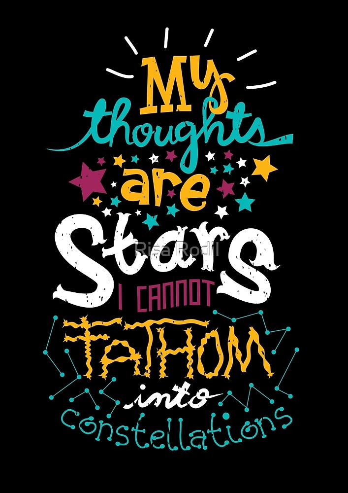 My Thoughts Are Stars by Risa Rodil
