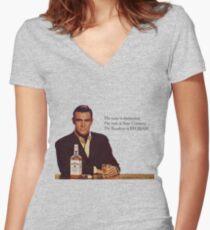 Camiseta entallada de cuello en V El Borbón de Sean Connery