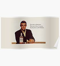 The Bourbon of Sean Connery Poster