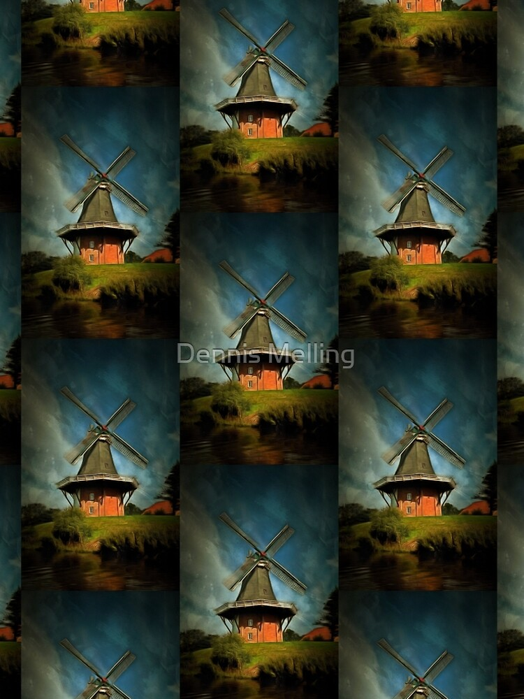 The Windmill at Greetsiel, Leybucht in East Frisia, Germany by ZipaC