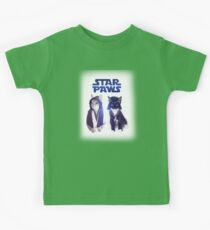 Star Wars Cats Kids Tee
