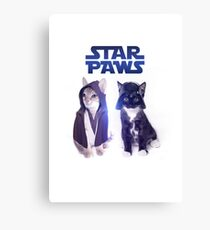 Star Wars Cats Canvas Print