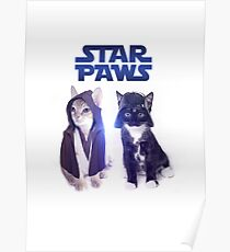 Star Wars Cats Poster