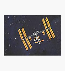 ISS Photographic Print