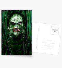 The Creature Postcards