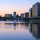 Skyline Sunrise by Darren Freak