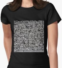 Snowstorm Women's Fitted T-Shirt