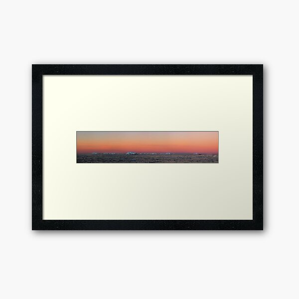 Mackellar Islets, Antarctica Framed Art Print
