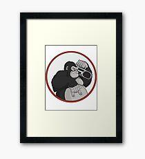 Gorilla Music Framed Print