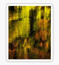 Gold on Rhone river Sticker