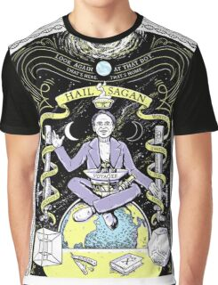 Hail Sagan Graphic T-Shirt
