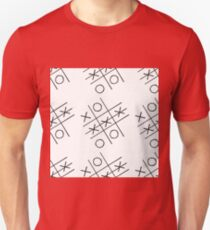 tic-tac-toe competition pattern, Unisex T-Shirt