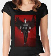 Lucifer Women's Fitted Scoop T-Shirt