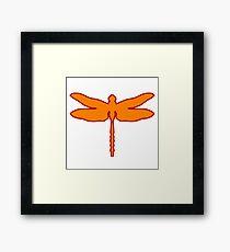 dragonfly dragonfly Framed Print
