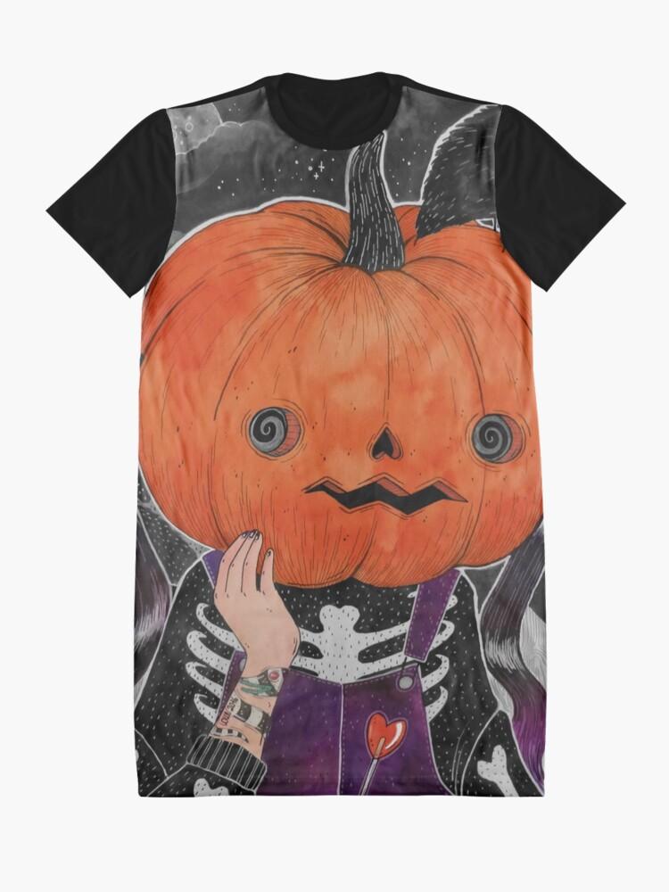 Alternative Ansicht von MEINE GÜTE! Ich bin ein Kürbis! T-Shirt Kleid
