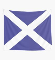 Flag Of Scotland Wall Tapestry