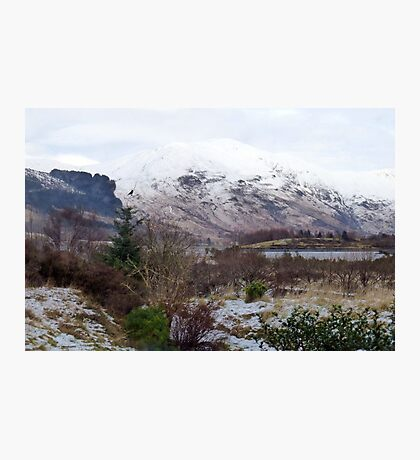 The Heart of Glencoe, Scotland Photographic Print
