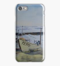 Sennen Cove Fishing Boats iPhone Case/Skin