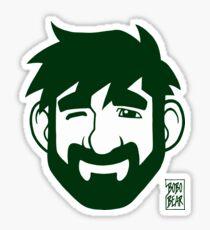 ADAM LIKES GREEN Sticker