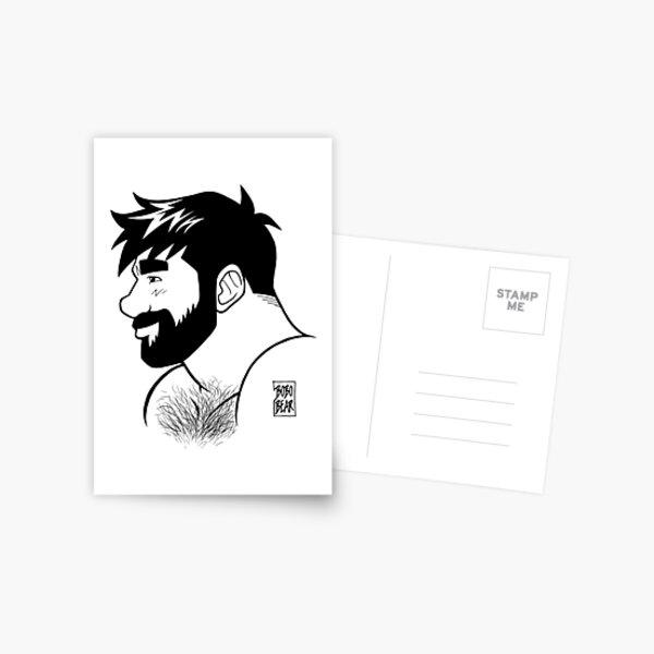 ADAM LIKES INK Postcard