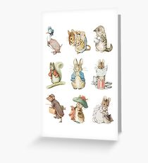 Beatrix potter Greeting Card